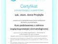 Anna Przybyla, implantologia 5