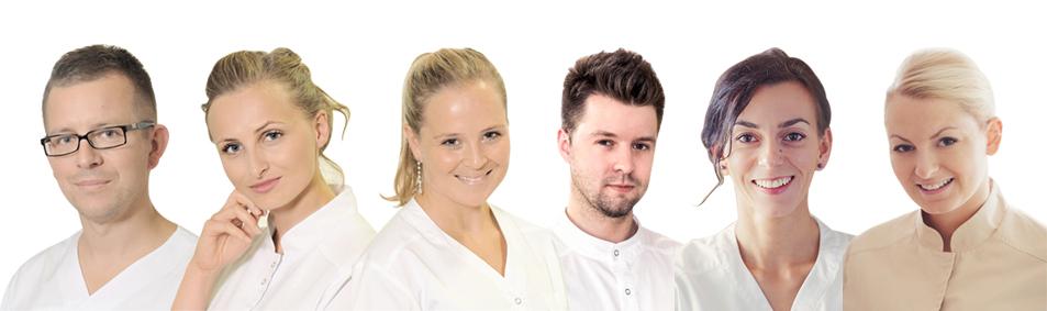 Zespół ekspertów w Dentim Clinic.